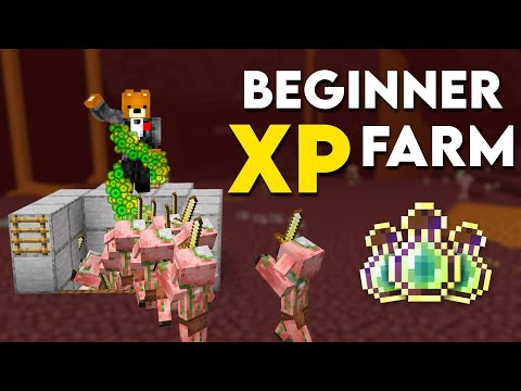 Minecraft: EASY XP FARM TUTORIAL! 1.16.5 U0026 1.17 Early Game (Without Mob Spawner)