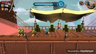 Ninjago Skybound app gameplay level 10