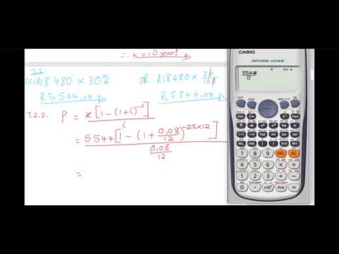 Financial Mathematics Question 7  
