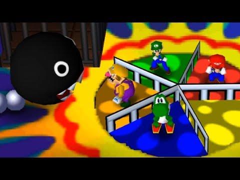 Mario Party 3 - All Mini Games