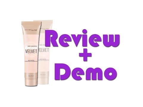 """Review + Demo """"Dream Velvet"""" (Maybelline)"""