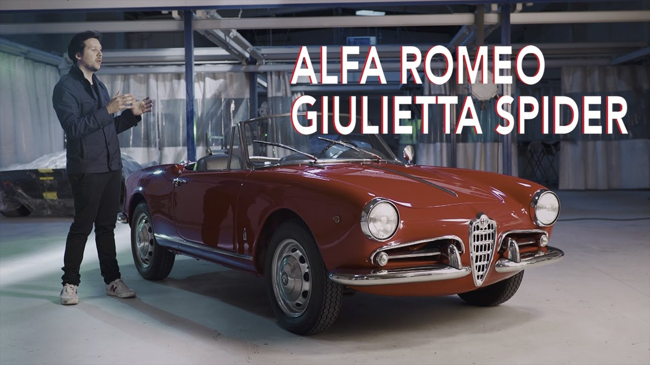wheely baby alfa romeo giulietta spider youtube. Black Bedroom Furniture Sets. Home Design Ideas