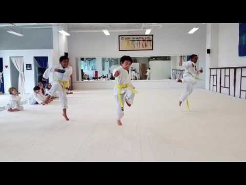 Quantum Martial Arts, Seattle. Our School In Action