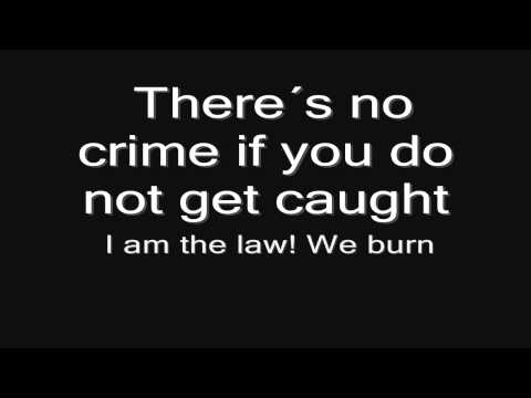 Sabaton - We Burn (lyrics) HD