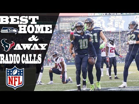 Every Texans-Seahawks TD as Heard from Houston & Seattle | NFL Highlights