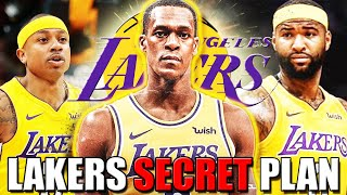 Lakers SECRET PLAN after RAJON RONDO INJURY! PERFECT REPLACEMENT SIGNING AND MORE DION WAITERS?