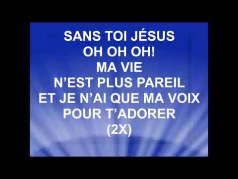 SANS TOI - Chantre Boniface