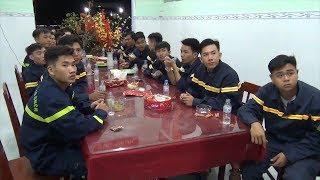 Tin Tức 24h: Tết của những người lính chữa cháy Kiên Giang