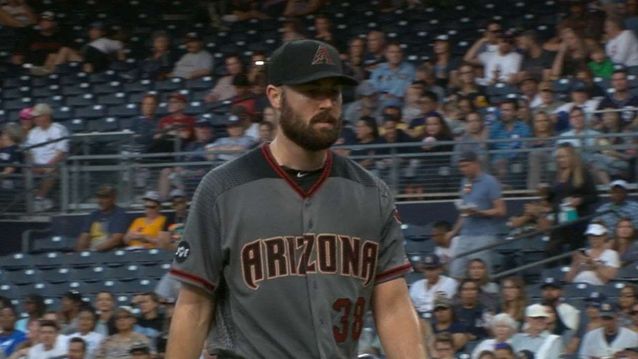 Arizona pitcher Ray is doing well after being hit in head