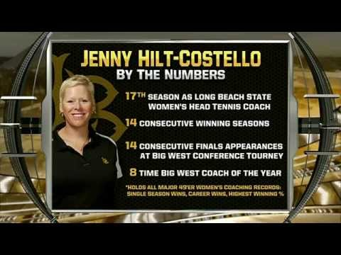 Long Beach State Women's Tennis - Beach Tennis TV feature May 2014