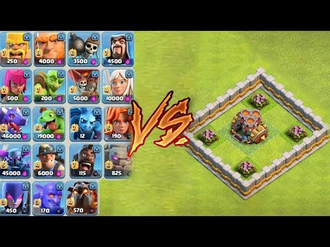 MULTI-MORTAR Vs EVERY SINGLE TROOP!! Clash of Clans New Geared-Up Mortar | CoC Update March 2018