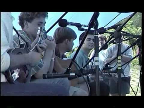 John Moore, Chris Thile, Sean Watkins, Ronnie McCoury Winterhawk (Grey Fox) Bluegrass Festival 99'