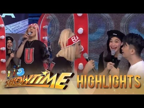 It's Showtime TrabaHula: Vice Ganda gets hurt with Anne's spanking