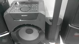 sony mhc gt3d home audio system 2400w