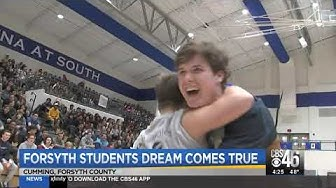 A dream come true for Forsyth COunty students