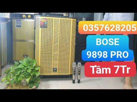 Bose 9898 pro Vàng | Phiên Bản Hiếm Có Khó Tìm | Loa Kéo Bass 5 Tấc Mạng Khủng 0357628205