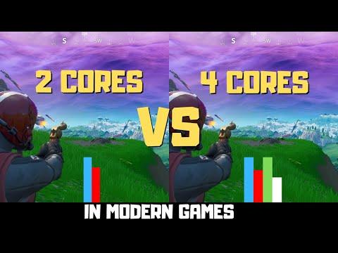 Dual Core Vs Quad Core Gaming