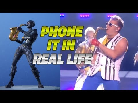 New *PHONE IT IN* Emote! In Real Life