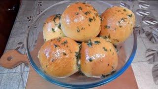 ПАМПУШКИ с Чесноком к Борщу |Как приготовить пампушки | Garlic Rolls for Borsch