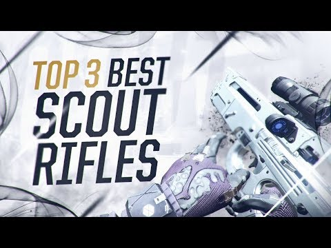 Destiny 2: TOP 3 BEST SCOUT RIFLES! Perfect Weapons for PVP!