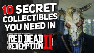 10 Secret Collectibles You Need in Red Dead Redemption 2! (Skull Masks, Sword & Viking Gear!)