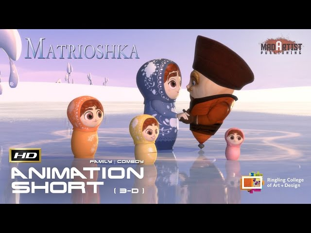 Matrioshka (HD) | Adorably Cute Russian dolls in love (Ringilng College)