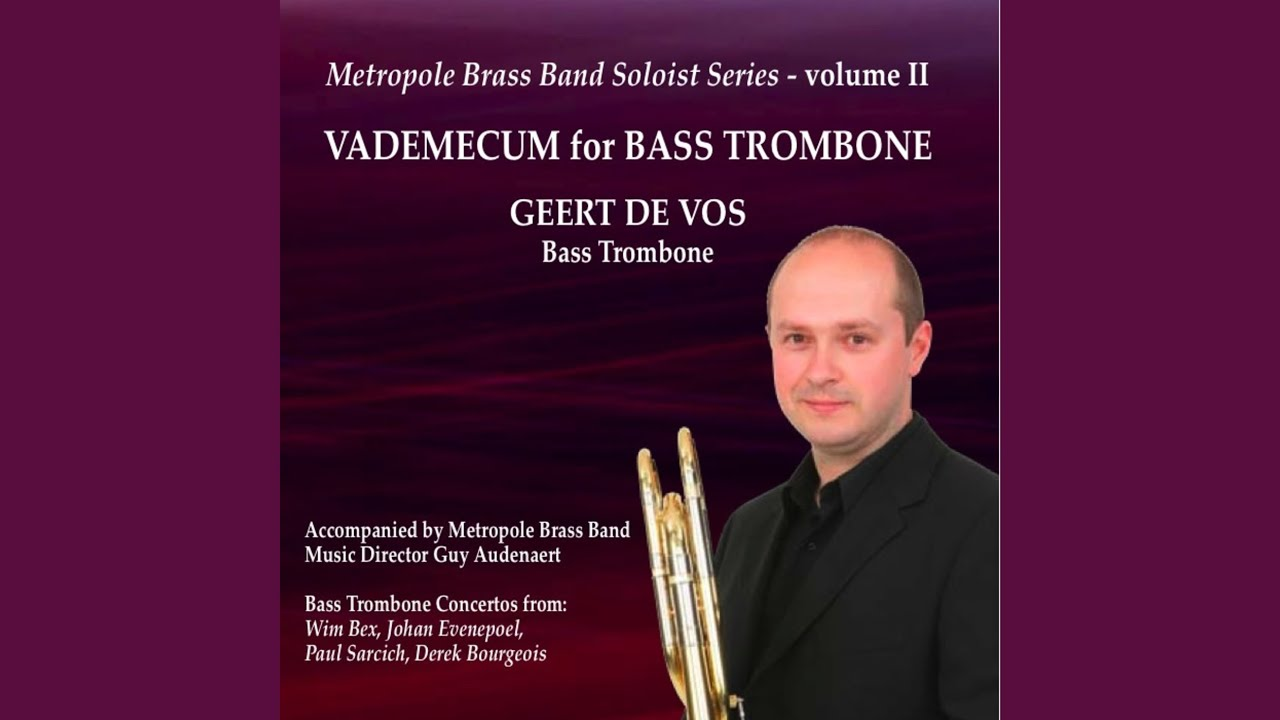 Concerto for bass trombone and band d. bourgeois 1. allegro con