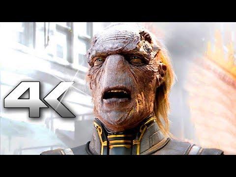 "AVENGERS INFINITY WAR ""Avengers VS Thanos"" Fight (4K ULTRA HD)"