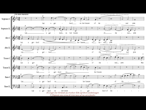 Pearsall | Lay a garland [á 8; Voces8]