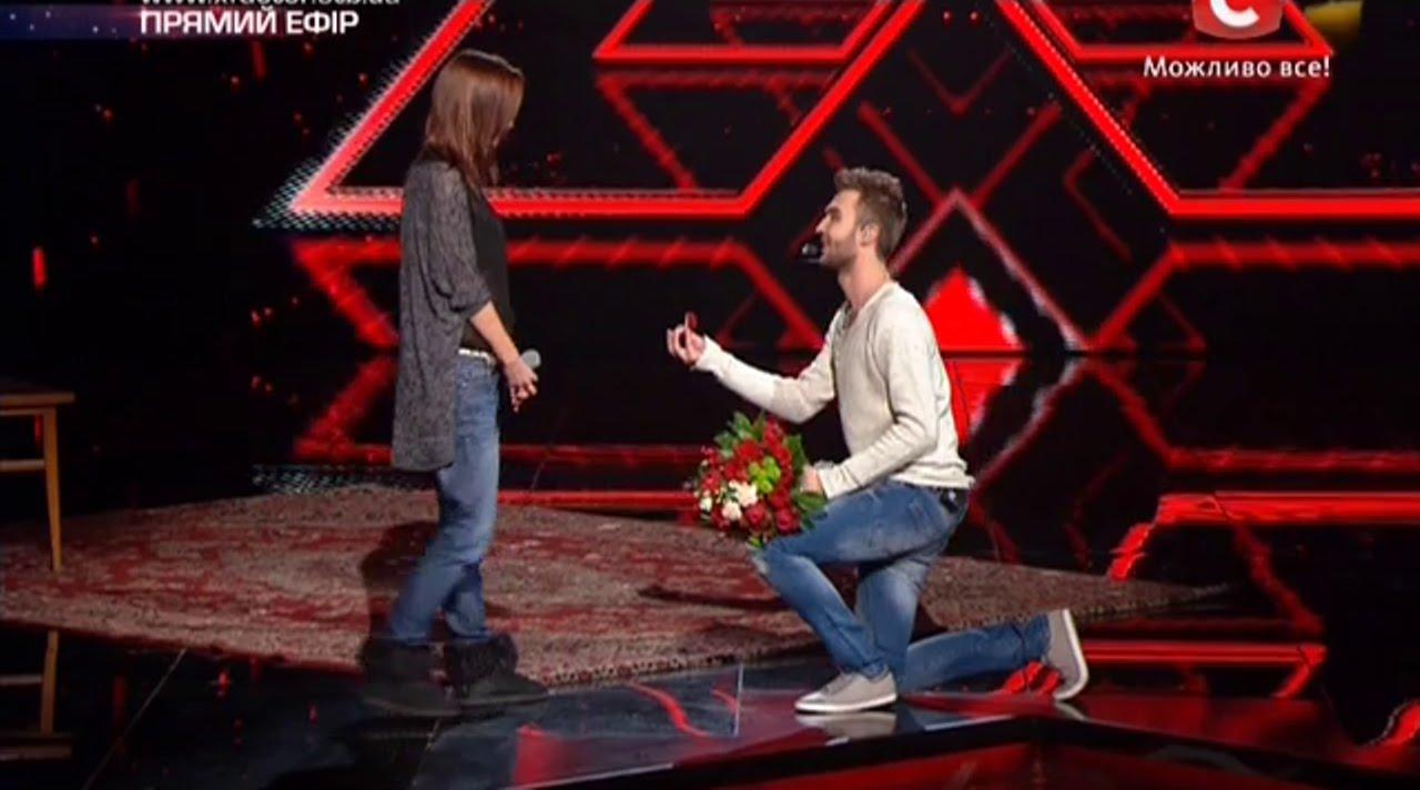Смотреть Х фактор 6: Андрей Хлывнюк и Нино Катамадзе расплакались после пронзительного выступления участницы из Грузии (видео) видео