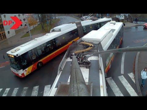 DPMHK: Trolejbus Se Proplétá Ranní špičkou V Hradci Králové (linka č.2)