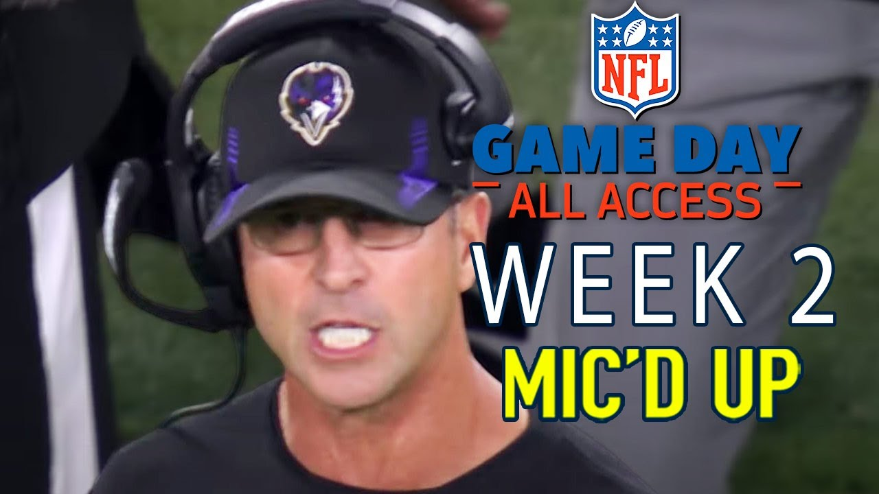 """Download NFL Week 2 Mic'd Up, """"Lamar Do You Want to Go For This!?"""" 