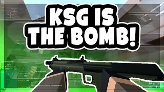 KSG est LE BOMB!!! | Forces fantômes ROBLOX