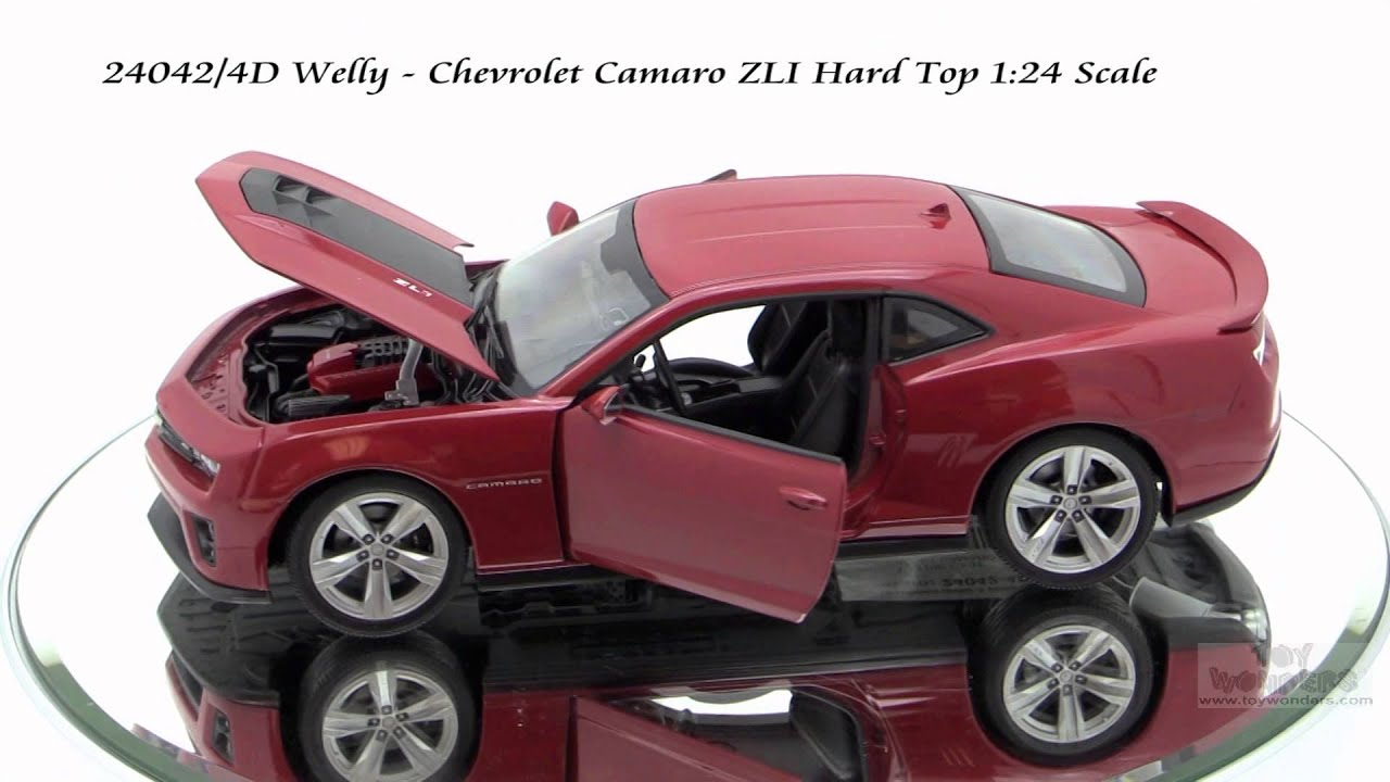 24042 4d Welly Chevrolet Camaro Zli 124 Scale Diecast