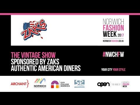 Norwich Fashion week - Vintage Show