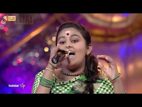 Super Singer Junior - Muthukulikka Vaareergala by Rohini
