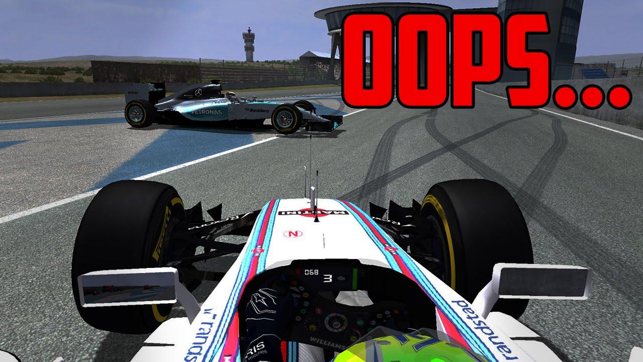 When the VTEC kicks in     - rFactor F1 2016 Pre-season Testing