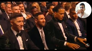 Ballon D'or 2019 Winner And Reaction!! Live