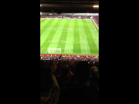 FANCAM: MANCHESTER UNITED WIN 20th LEAGUE TITLE FINAL WHISTLE