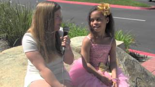 Asia Monet Ray from Abby's Ultimate Dance Competition Interview