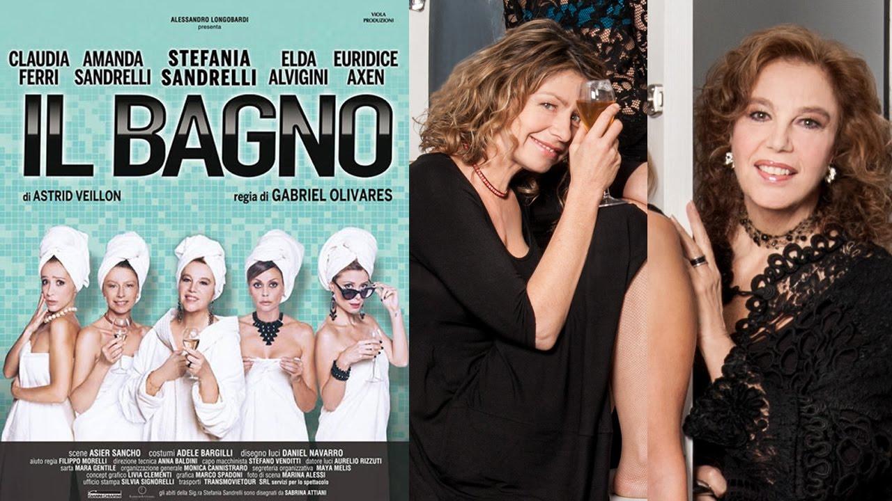 Stefania e amanda sandrelli al teatro sala umberto con 39 il bagno 39 youtube - Il bagno teatro ...
