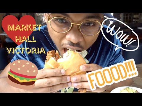 AMAZING FOOD IN LONDON // RESTAURANTS IN LONDON // MARKET HALL VICTORIA