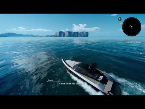 Final Fantasy XV playthrough pt82 - Boat Trip! Welcome To Altissia, a.k.a. Venice