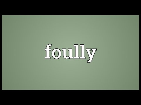 Header of foully
