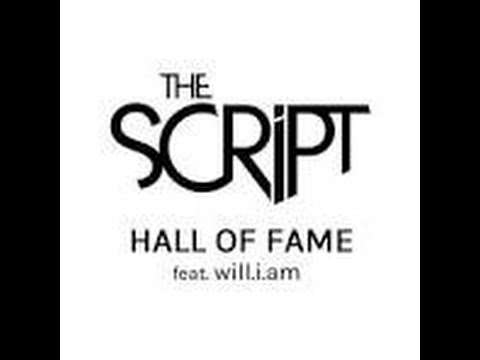 Hall of Fame - The Script ft. Will.i.am (Lyrics)