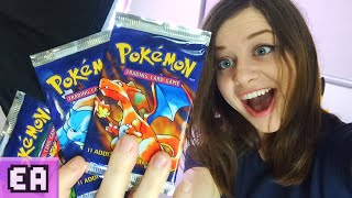 Opening Original 1999 Pokemon Booster Packs (RARE!)