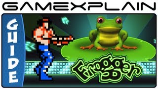 Unlock Contra In Frogger Hyper Arcade Edition Xbox 360, Wii, Playstation 3