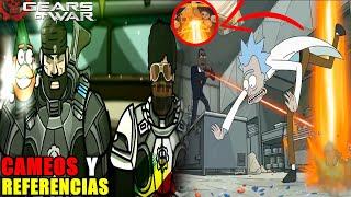 El Martillo De Alba En Rick Y Morty | Cameos Y Referencias | Gears Of War Parte #2