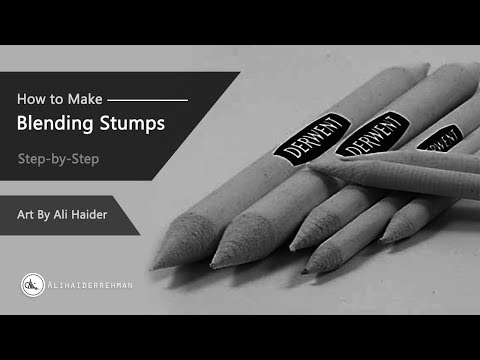 how-to-make-your-own-paper-blending-stumps/-tortillons-|-step-by-step-method.