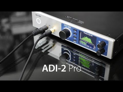 RME Audio ADI-2 Pro - Perfect Sound Capture and Reproduction